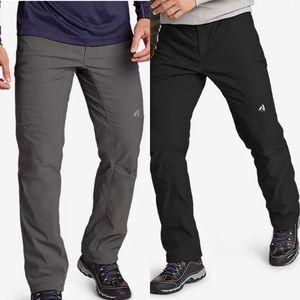 2 Pair Men's Eddie Bauer Guide Pro Lined Pants